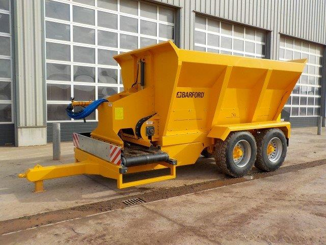 Barford 750i Material Distribution Trailer