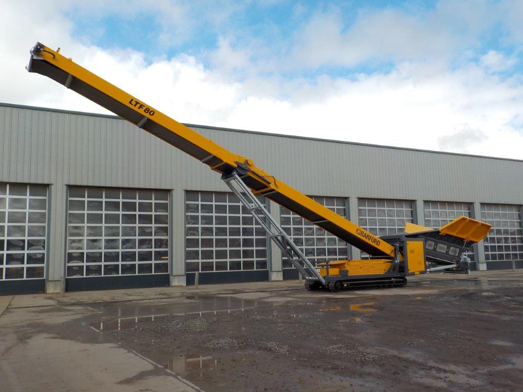 Barford LFT80 Tracked Low Level Conveyor