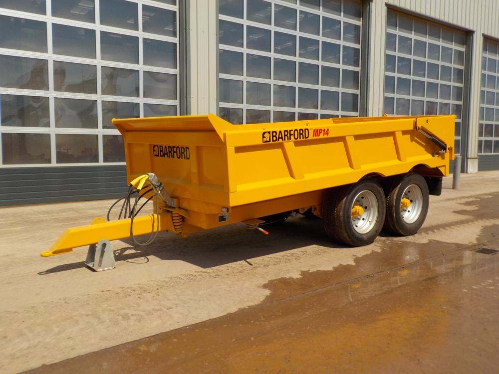 Barford MP14 Twin Axle Dump Trailer
