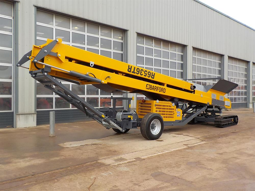 Barford R6536TR Tracked Stockpile Conveyor