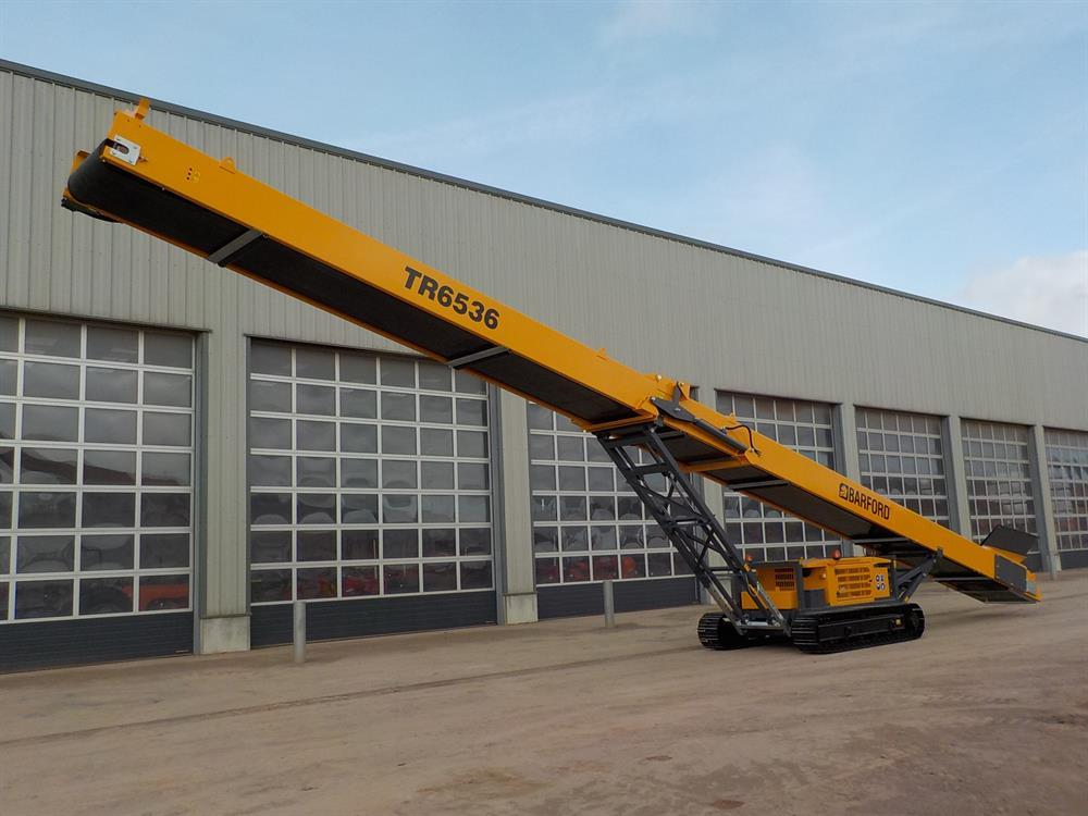 Barford TR6536 Tracked Stockpile Conveyor