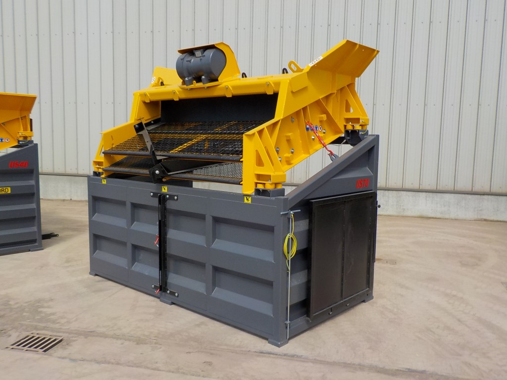 Barford US70 Portable Skid Mounted Screener